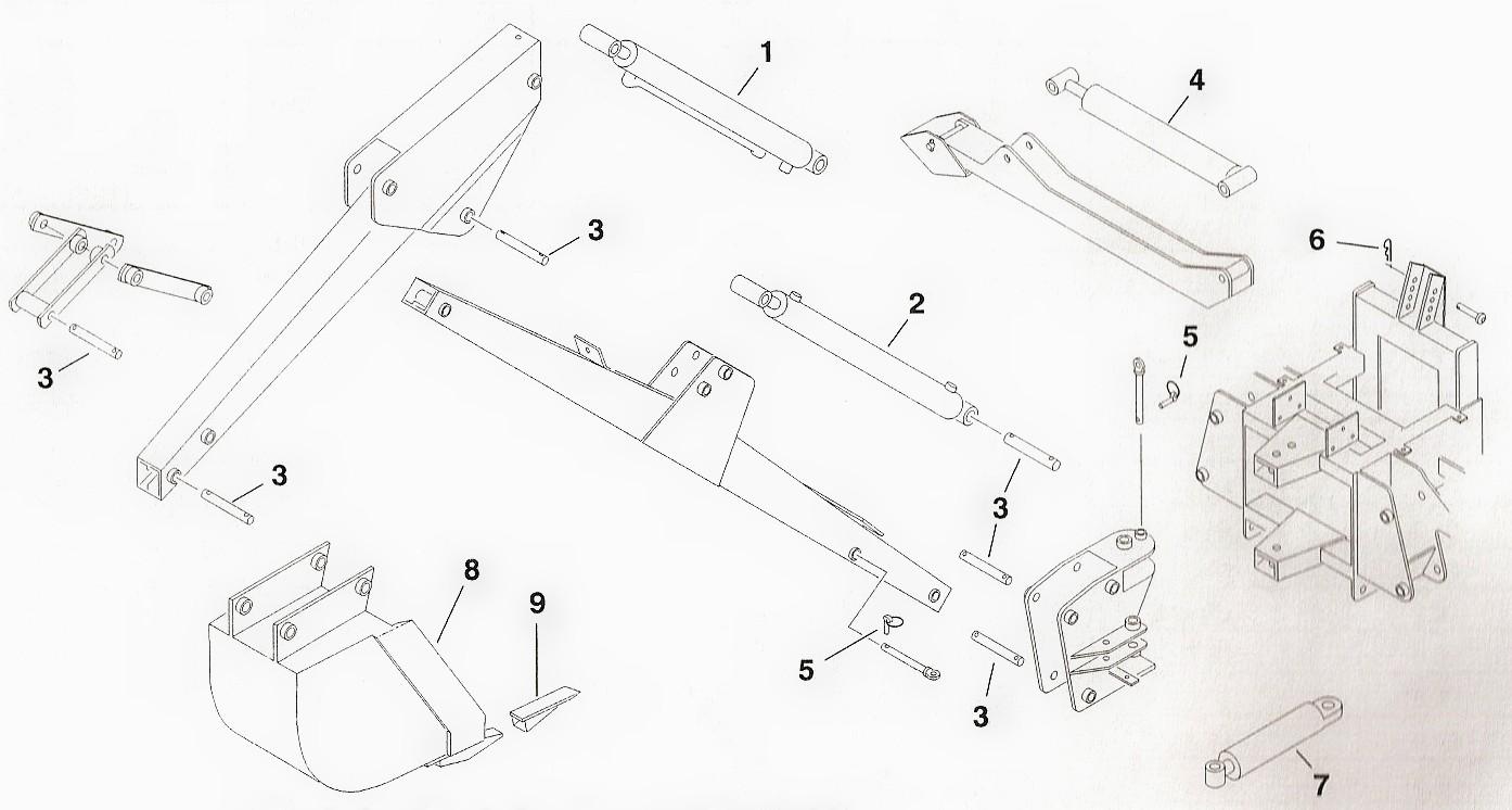 Toro Dingo Backhoe Attachment Parts on Toro Dingo Parts Diagram