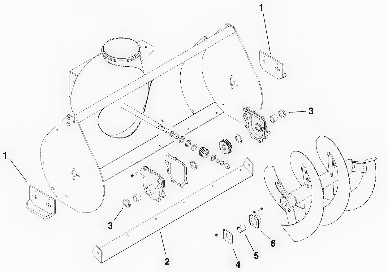 Snow Thrower Parts : Toro engine diagram snowblower manual wiring