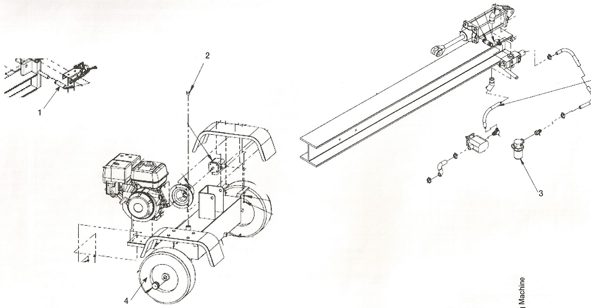 log splitter control valve diagram