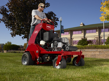 Toro Walk Behind And Ride On Hydraulic Aerator Exmark Lawn