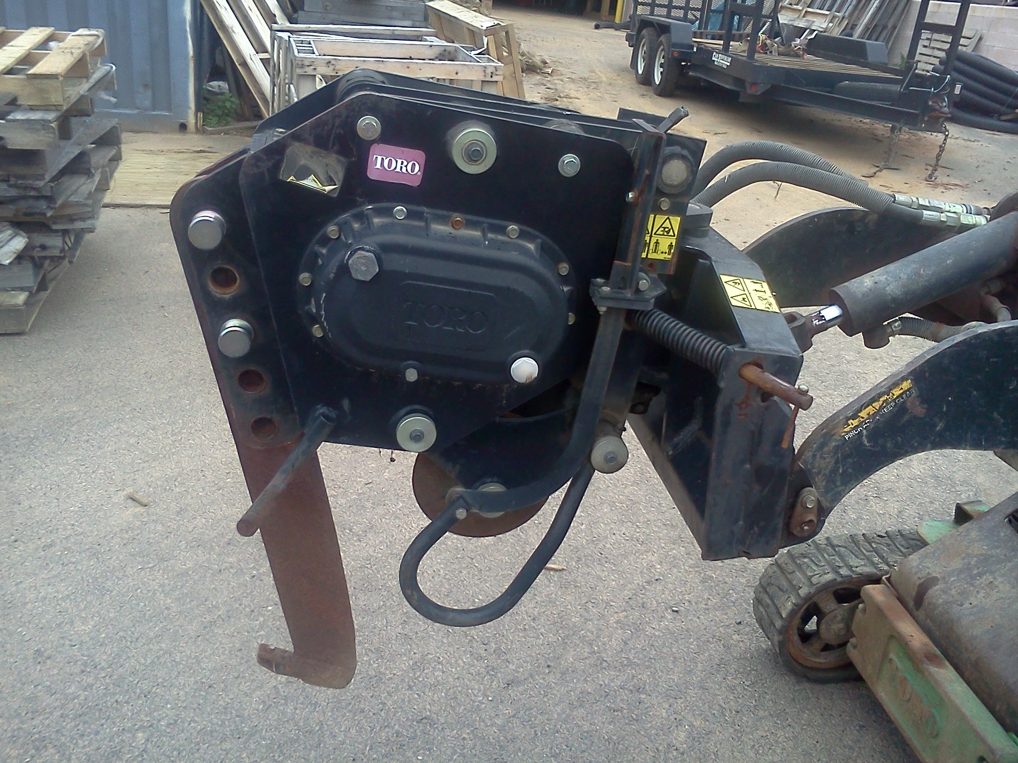 Used Toro Dingo Tiller Attachment 2