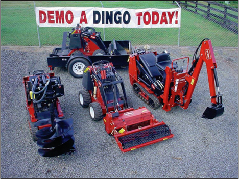 toro dingo and toro dingo attachments