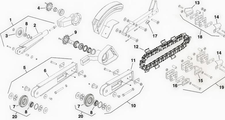 ford ranger 4 0 engine timing chain diagram toro dingo trencher attachment parts chain roller nose