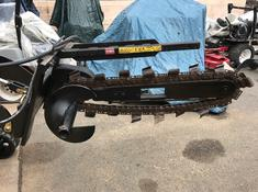 used toro dingo trencher attachment