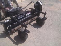 Used Toro Dingo power box rake
