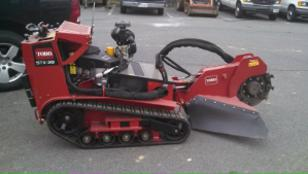 used toro  dingo stump grinder stx 38