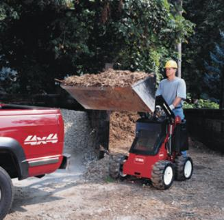 toro dingo 323 with bucket