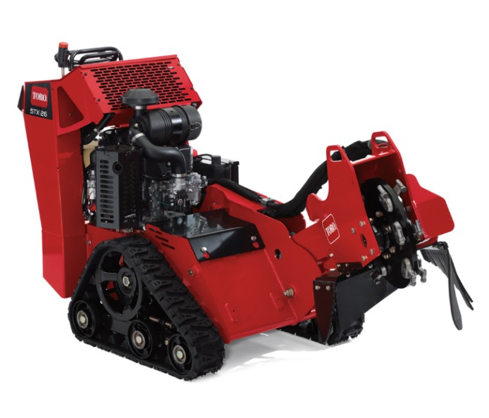 toro stx 26 38 stump grinder parts lookup webpage